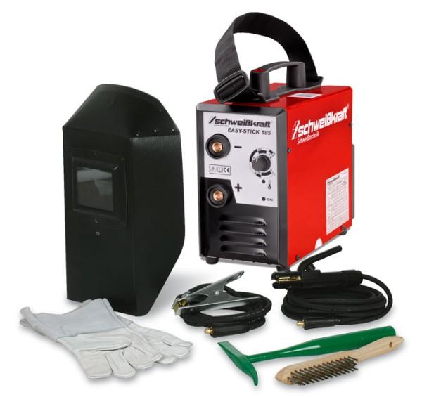 Schweisskraft Elektrodeninverter mit Aktions-Set EASY-STICK 185 Aktions-Set