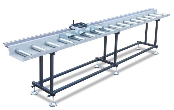 Metallkraft Rollen- und Messbahnsystem MRB Standard BKF - Breite 400 mm. Länge 6 m