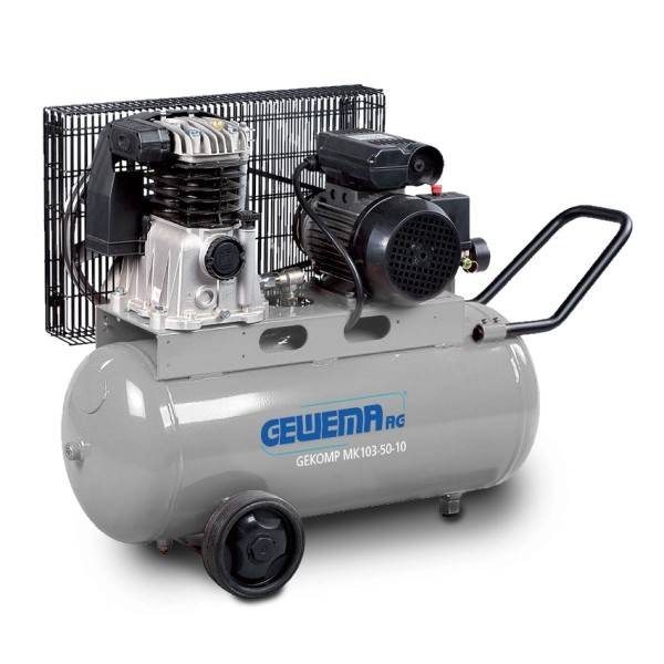 GEWEMA Kolbenkompressor GEKOMP MK 103-50-10