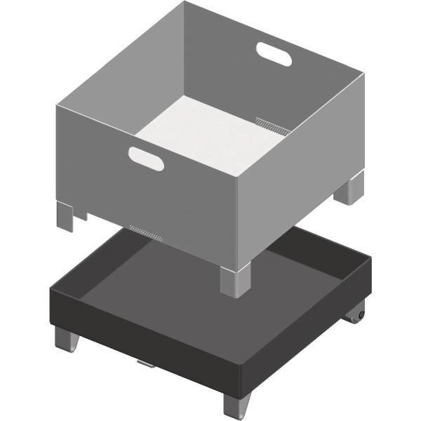 Metallkraft  Spänebehälter